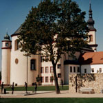 The Piarist Church and Gardens, Litomysl