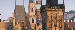 Prague Lesser Town Towers